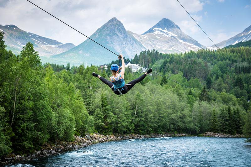 klatrepark-zipline
